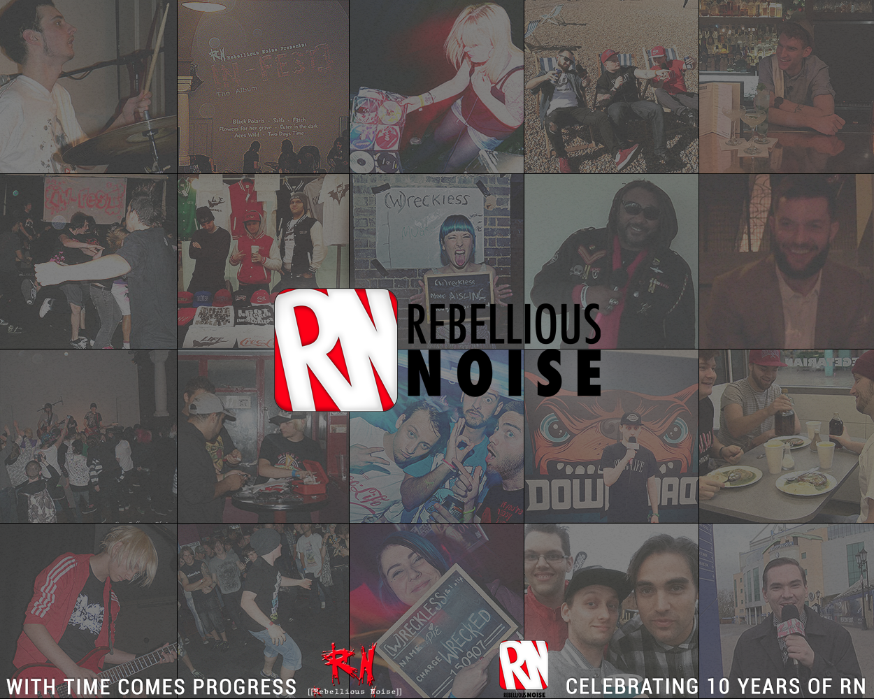 Celebrating 10 years of Rebellious Noise