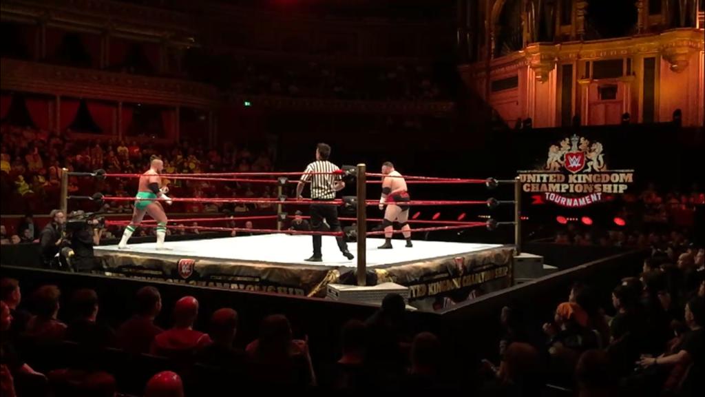 REVIEW: WWE United Kingdom Tournament 2018 Night One (18/06/18) - Rebellious Noise - Dave Mastiff Joe Coffey