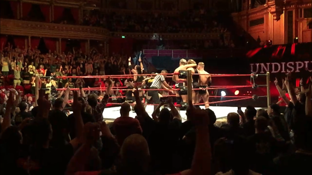 REVIEW: WWE United Kingdom Tournament 2018 Night One (18/06/18) - Rebellious Noise - British Strong Style - Undisputed Era