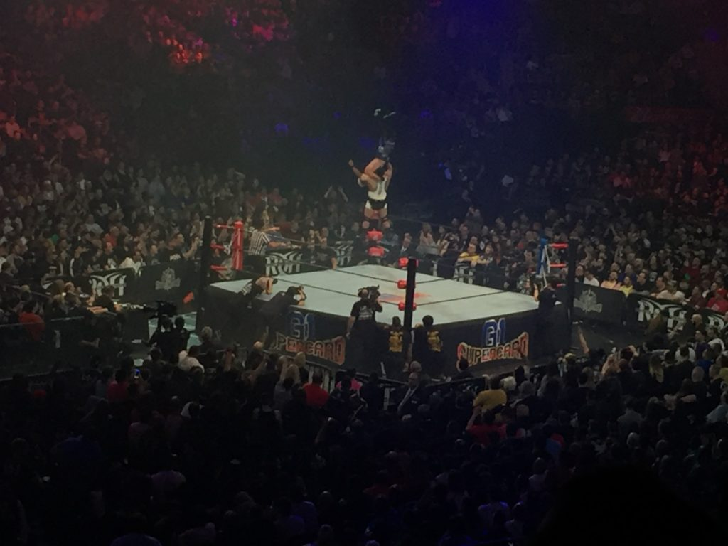ROH & NJPW G1 Supercard Madison Square Garden Review - Rebellious Noise - Ospreay vs Cobb